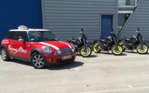 Permis moto A2