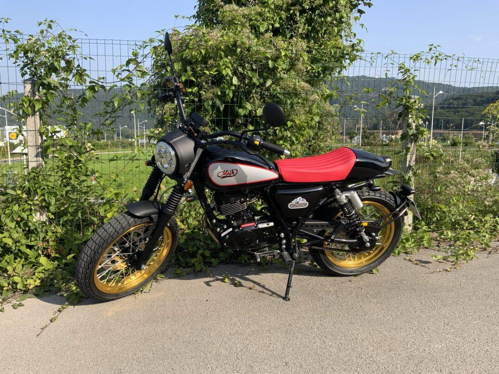 Moto Mash type esprit vintage (formation 125 cm3)