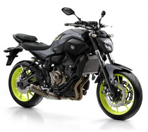 Yamaha MT 07 (permis moto A2)